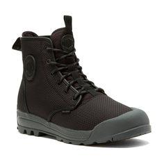 Palladium Men's Pampatech Hi TX Boots, Size: Men Women Black Balenciaga Sneakers, Gucci Sneakers, Best Sneakers, Leather Sneakers, All Black Sneakers, Shoes Sneakers, Palladium Boots, Mens Fashion Shoes, Men's Fashion