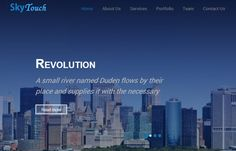 Free Responsive website bootstrap