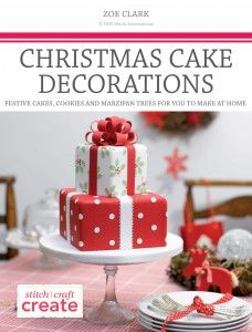 free ebook Christmas Cake Decorations