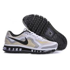 size 40 081e6 eadc4 8xstore.com. Only  85.99 plus Free Shipping! Nike Air Max 2014 White Beige Black  Mens Shoes On ...