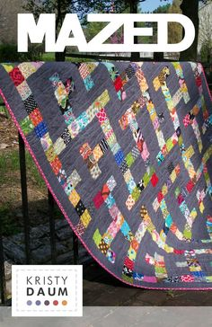 MAZED  PDF  Quilt Pattern by kristydaum on Etsy what my son want for his Christmas present from me.