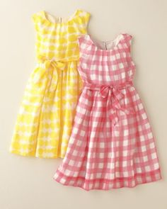 Remember when we were little and we had to squeeze every last drop out of summer?  And you wore the pink dress and I had the yellow?  #garnethill #summerstyle