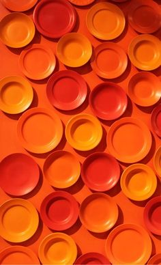 Orange Wall of China. Image Credit: http://wallnut.dk/wp-content/uploads/bontempi-casa-formland.jpg