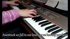 Indescribable - Chris Tomlin piano Instrumental (cover) - Karen Will Music