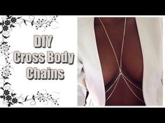 DIY Cross Body Chain- Rihanna Inspired. DIY video-How to make a cross body chain. Easy DIY, great gift for friends. HELP ME GET THIS VIDEO TO 40,000 VIEWS:) ...