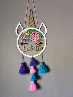 Unicorn Themed Birthday, Unicorn Party, Diy And Crafts, Arts And Crafts, Unicorn Crafts, Diy For Girls, Creative Gifts, Gifts For Kids, Dream Catcher