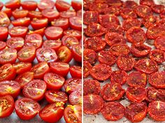Ψητά ντοματίνια/Roasted cherry tomatoes Tomato Pasta Salad, Cherry Tomato Pasta, Roasted Cherry Tomatoes, Spice Mixes, Spices, Yummy Food, Vegetables, Recipes, Spice Blends