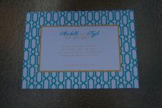 Modern Save the Date Modern Wedding Invitation by Bellezaeluce, $100.00