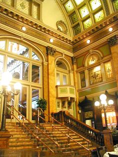 Grand Concourse - Pittsburgh, PA one of my favorite restaurants and certainly #1 to bring in out of town guests