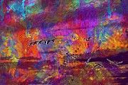 "New artwork for sale! - "" Birds Flamingo Fly Feathers  by PixBreak Art "" - http://ift.tt/2ula3Vn"