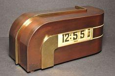 Lawson Zephyr Clock by Kem Weber