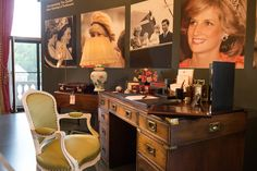 Princess Diana's sons picked out the special objects on her desk for an exhibit to mark the 20th anniversary of her death