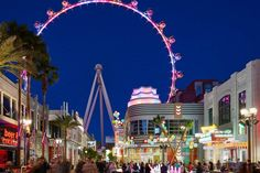 Photo of The High Roller And People Shopping At The Linq