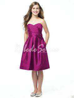 Collection robes de cocktail rose junior