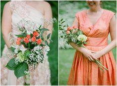 Rustic Lake Wedding Flowers