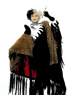 I live for fur. I worship fur. After all, is there a woman in all this wretched world who doesn't? De Vil
