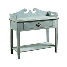 Pulaski - 806019 - Console Table Blue 806019 New