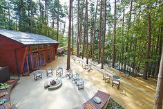 星のや富士でグランピングVol.1自然の中でのんびり過ごす星のや富士へ Landscape Art, Landscape Architecture, Dreams Resorts, Forest Park, Am Meer, Outdoor Furniture Sets, Outdoor Decor, Trellis, Glamping