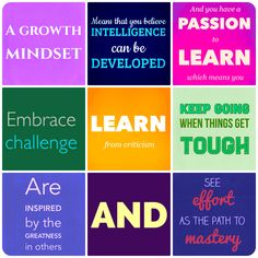 Top Ten Tips for Developing a Growth Mindset in Your Classroom.