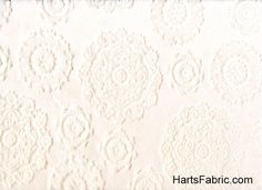 Embossed Cuddle Minkee Fabric Ivory