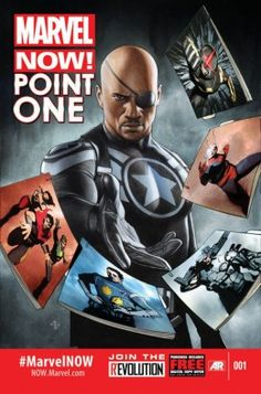 Marvel Now! Point One 51 pages. The future of Marvel is NOW! A Point One issue introducing the movers and shakers of the Marvel Universe to come! Marvel Comics, Marvel Now, Marvel Heroes, Comic Book Covers, Comic Books Art, Comic Art, Book Art, Gi Joe, Akira