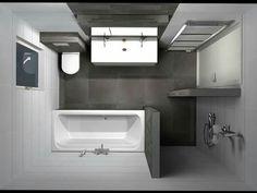 Goede indeling voor uitgebouwde badkamer