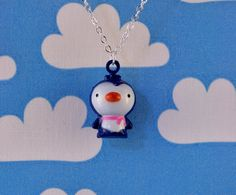 Penguin Necklace Jingle Bell
