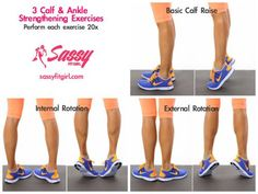 Exercise of the Day: Calf Raises It's important... | Sassy Fit Girl
