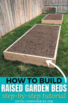 How To NOT Spend A Fortune On Raised Garden Beds: How To Build Raised Garden Beds For Cheap!