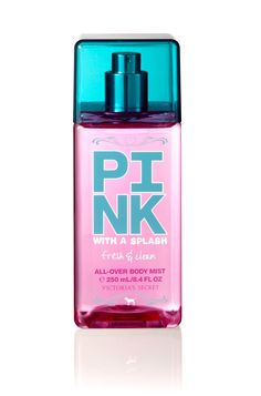 Victoria's Secret PINK®  All-Over Body Mist  Fresh & Clean  $18.00  (bath and body works)