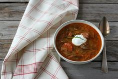 With sauerkraut, smoked ham, and smoked sausages, kapustnica (Slovak sauerkraut soup) is the perfect example of old world batch cooking. Slovak Recipes, Czech Recipes, Hungarian Recipes, Hungarian Food, Ethnic Recipes, Smoked Ham, Smoked Sausages, Batch Cooking, Sauerkraut