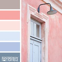 Dusty Rose Door #color #colorpalettes