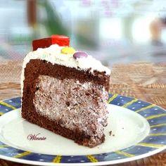 Chocolate Whipped Cream Cake by Winnie