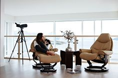 Stressless Recliners Living Room Design Ideas, Pictures, Remodel and Decor