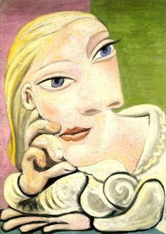 1939 Portrait de Marie-Thérèse Walter - Picasso