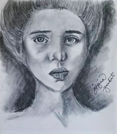 Please critic my work. Do you guys have any tips for me? I tend to mess up my charcoal drawings! #charcoal #drawing #art #sketch