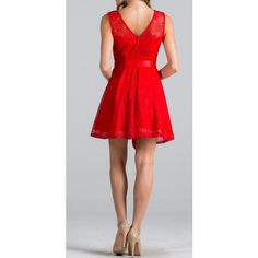 Point Of Perfection Illusion Red Lace Tulle Dress. Full of Style & Perfection, This Dress Is Guaranteed To Please No Matter What Event You Wear It To!    Shop the dress: https://ledyzfashions.com/collections/all-dresses/products/point-of-perfection-red-la