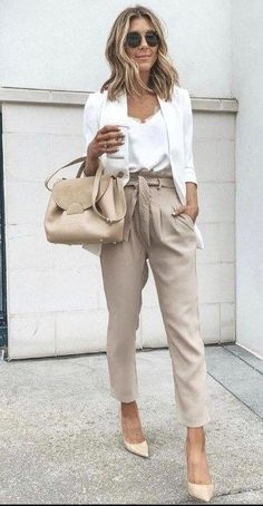 Elegant Summer Outfits, Stylish Work Outfits, Stylish Dresses, Summer Business Outfits, Work Casual, Summer Casual Outfits For Women, Summer Chic, Summer Work Outfits Office, Summer Work Fashion
