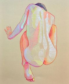 Human Figure Drawing this isn't happiness™ (She comes in colors, Lui Ferreyra), Peteski - Human Figure Drawing, Figure Drawing Reference, Art Sketches, Art Drawings, Sketchbook Inspiration, Drawing People, Figure Painting, Art Inspo, Figurative Art