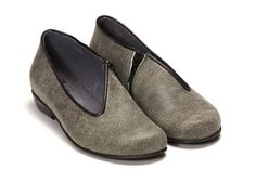 SALE 30% OFF Venice - Women\'s Shoes Flats Loafers Gray Black Leather Comfortable Heel Dress Shoes Clogs 4 5 6 7 8 9 10 11.5 12