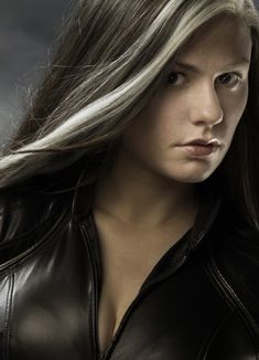Rogue is a mutant who can absorb life energy from other people.