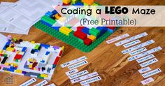Coding Activity for Kids - Teaches kids the fundamentals of computer programming without using a computer. Optionally uses LEGOS or build a maze.