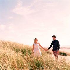 Dreamy Beach Engagement Shoot