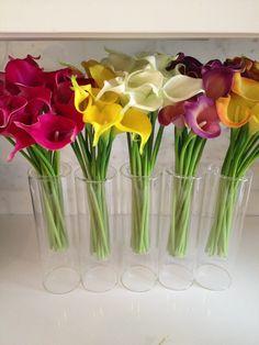Items similar to Fine Silk Flowers Faux Calla Lilies bundle 9 stems/bundle on Etsy Summer Flower Arrangements, Silk Floral Arrangements, Flower Vases, Calla Lily Colors, Purple Calla Lilies, Silk Flowers, Beautiful Flowers, Beautiful Horses, Flower Crafts