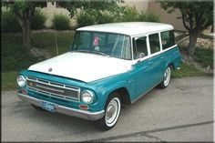 I had this 1964 International TravelAll in the Original International Pink....I miss Ethel !!