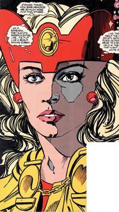 Fury DC Comics   Fury - Infinity, Inc - DC Comics - Lyta Hall - Profile 1