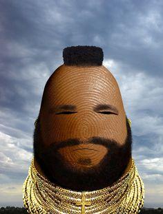 Mr. T---humb!