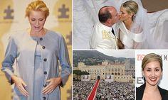 Princess Charlene and Prince Albert of Monaco expecting TWINS