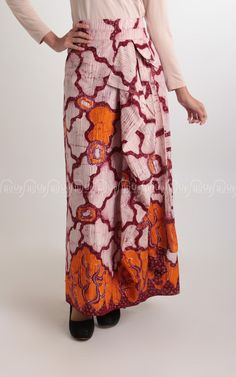 Batik Skirt Orange