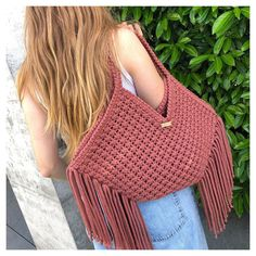 Macrame Bag, Straw Bag, Summer, Diy, Instagram, Fashion, Bag, Knit Bag, Create